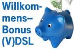 Alle o2 DSL / VDSL Tarife günstiger und mit Willkommensbonus
