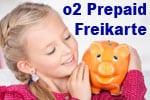 o2 Prepaid Freikarte - keine Anschluss- und Versandkosten