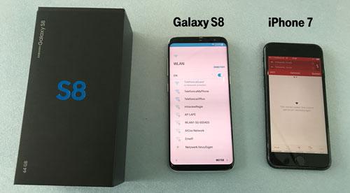 Daten übertragen von iphone auf samsung galaxy s8