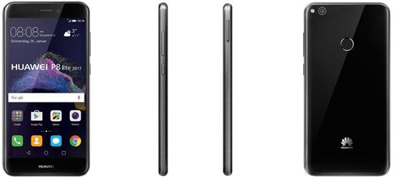 Huawei P8 Lite (2017) mit o2 Free Vertrag