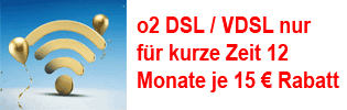 o2 DSL / VDSL mit Rabatt