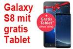 o2 WOW der Woche: Samsung Galaxy S8 mit gratis Tablet (7 Zoll)