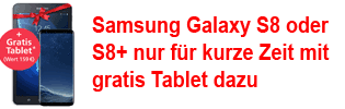 Samsung Galaxy S8 / S8+ mit gratis Tablet