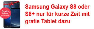 Samsung Galaxy S8 / S8+ bei o2 mit gratis Tablet