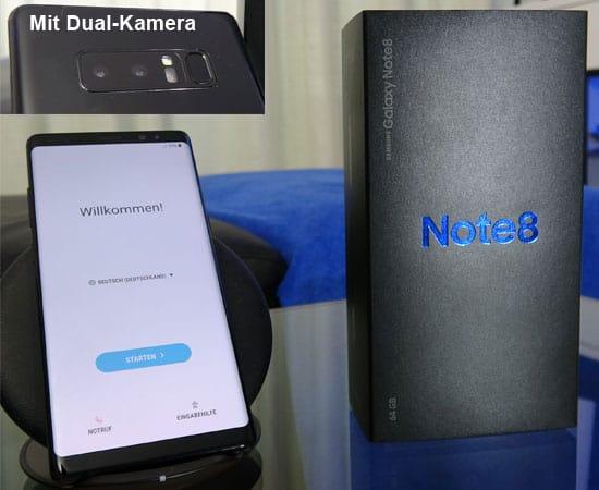 Samsung Galaxy Note 8 mit o2 Free
