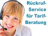 o2 Rückruf-Service - Tarifberatung
