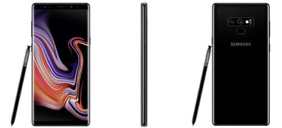Samsung Galaxy Note 9 mit o2 Free Tarif - Bundle
