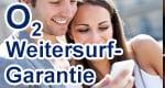 o2 Weitersurf-Garantie für o2 Free Tarife