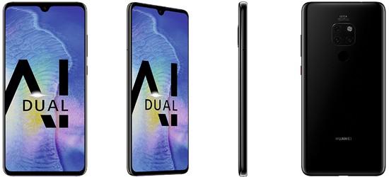 Huawei Mate 20 günstig mit o2 Free Vertrag - Bundle