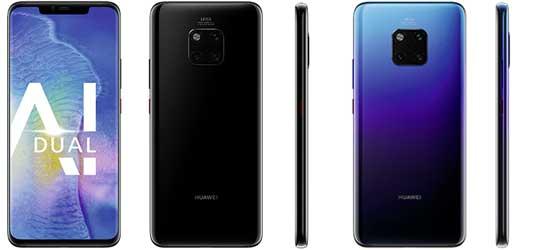 Huawei Mate 20 Pro günstig mit o2 Free Vertrag
