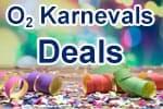 o2 Karnevals-Deals - närrische Angebote und Schnäppchen