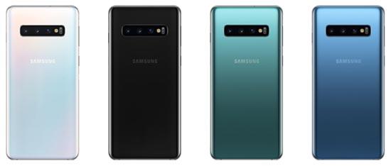 Samsung Galaxy S10 - Farben