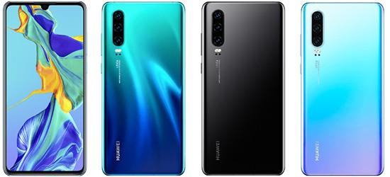 Huawei P30 mit o2 Free Vertrag - Bundle