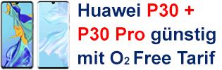Huawei Smartphones bei o2