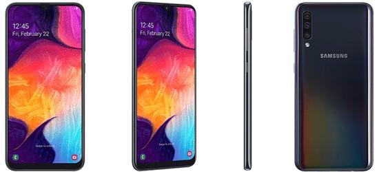 Samsung Galaxy A50 günstig mit o2 Free Tarif - Bundle