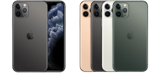 Apple iPhone 11 Pro Max mit o2 Free Vertrag - Bundle