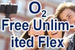 o2 Free Unlimited Flex - Smartphone Tarif / Handyvertrag