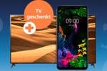 o2 Halloween-Deal: LG G8s ThinQ + Fernseher