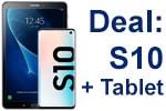 Deal: Samsung Galaxy S10 mit Tablet Galaxy Tab A 10.1 LTE