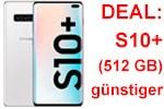 Angebot im Advent: Samsung Galaxy S10+ (512 GB) mit o2 Free günstiger