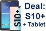 o2 Doppel-Deal: Samsung Galaxy S10+ mit Tablet-PC Galaxy Tab E