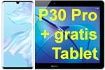 Huawei P30 Pro mit o2 Free mit gratis Tablet Huawei Mediapad