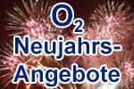 o2 Angebote und Aktionen zu Silvester und Neujahr