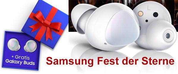 Samsung Fest der Sterne - Galaxy Buds kostenlos