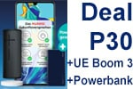Deal: Huawei P30 + UE Boom 3 + Powerbank mit o2 Free