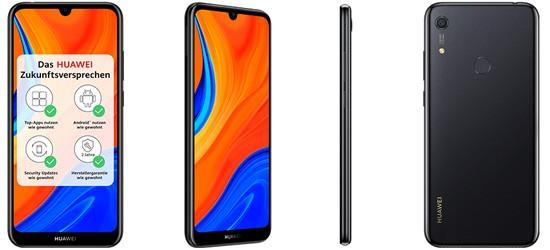 Huawei Y6S günstig mit o2 Free Tarif – Bundle