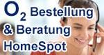 Beratung sowie o2 HomeSpot bestellen (telefonisch und online)