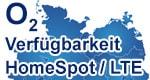 Verfügbarkeit o2 HomeSpot - Internet via LTE mit o2 my Data Spot Tarif