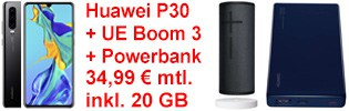 o2 Deal mit Huawei P30