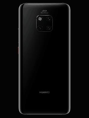 Huawei Mate 20 Pro - schwarz (hinten) - o2