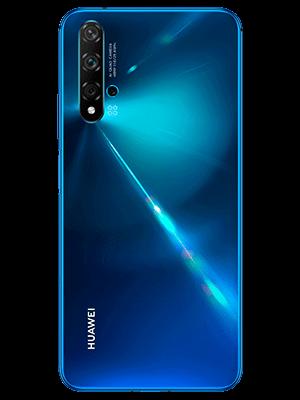 Huawei nova 5T - blau (hinten) - o2