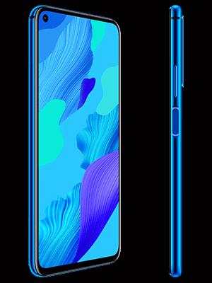 Huawei nova 5T - blau (seitlich) - o2
