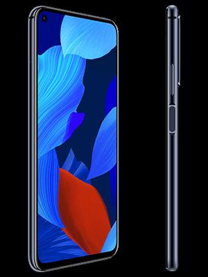 Huawei nova 5T - schwarz (seitlich) - o2