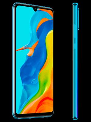 Huawei P30 lite New Edition - blau (seitlich) - o2