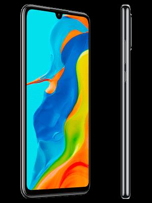 Huawei P30 lite New Edition - schwarz (seitlich) - o2