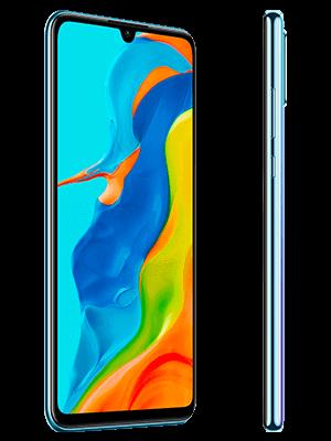 Huawei P30 lite New Edition - weiß (seitlich) - o2