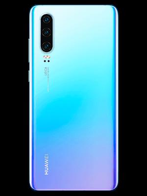 Huawei P30 - weiß (hinten) - o2