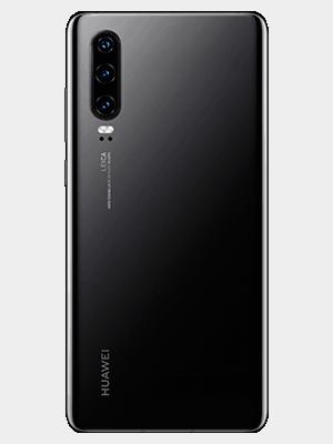 Huawei P30 - schwarz (hinten) - o2