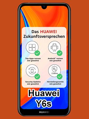 Huawei Y6s bei o2