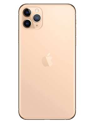 Apple iPhone 11 Pro Max - gold hinten - o2