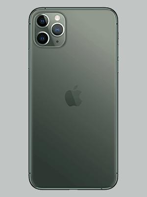Apple iPhone 11 Pro Max - midnight green hinten - o2