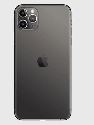 Apple iPhone 11 Pro Max - spacegrau / schwarz hinten - o2