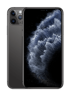 Apple iPhone 11 Pro Max - spacegrau / schwarz - o2