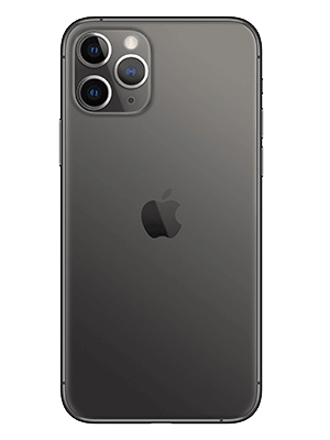 Apple iPhone 11 Pro - spacegrau / schwarz hinten - o2