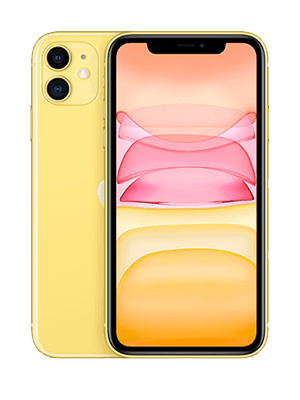 Apple iPhone 11 - gelb - o2