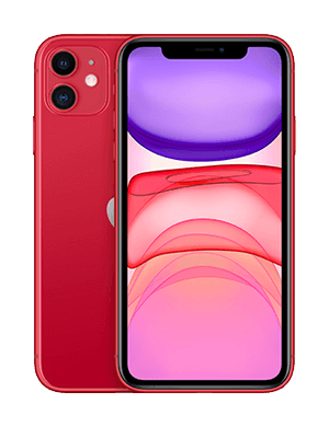 Apple iPhone 11 - red / rot- o2